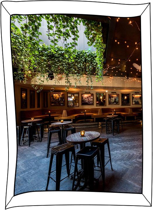 Common Ground Bar Interior tables